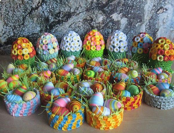 Как сделать пасхальные яйца своими руками?</h2> <h2> Декоративные поделки яиц на Пасху
