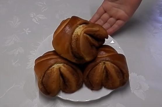 Булочки с корицей и сахаром - рецепт пошаговый с фото