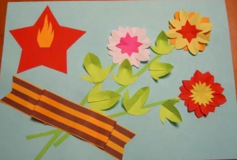 Картинки, открытка к вов своими руками в детском саду