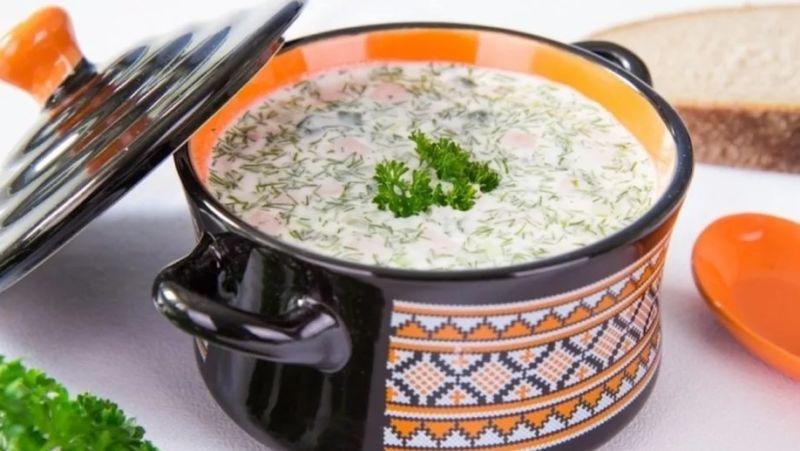 Вкусная окрошка на кефире - 10 классических пошаговых рецептов