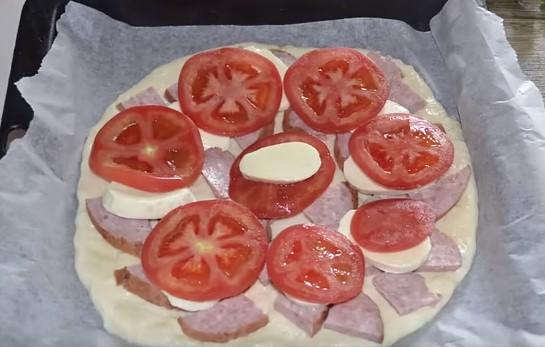 Домашняя пицца в духовке - 4 пошаговых рецепта приготовления пиццы дома