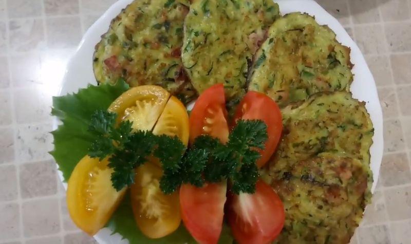 Кабачковые оладьи - рецепт пошаговый с фото