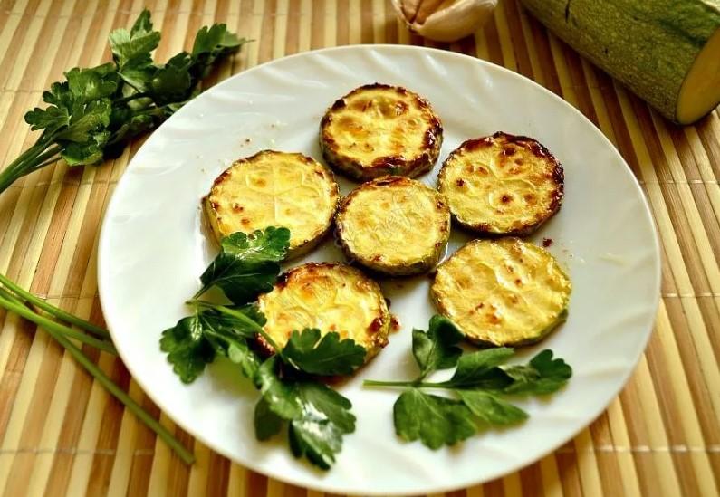 Жареные кабачки - рецепт пошаговый с фото