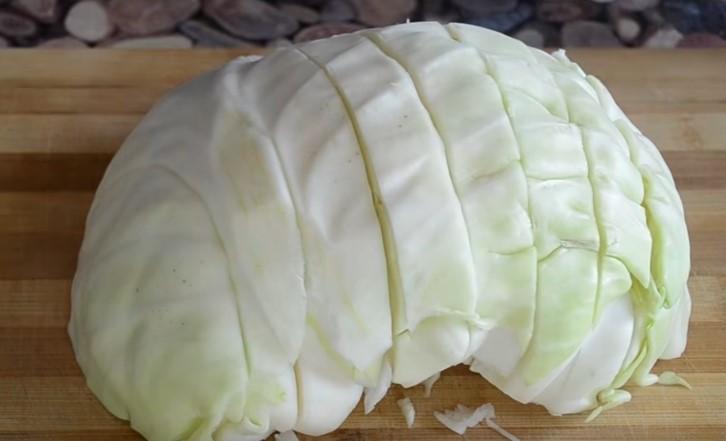 Рецепт квашеной капусты с водой