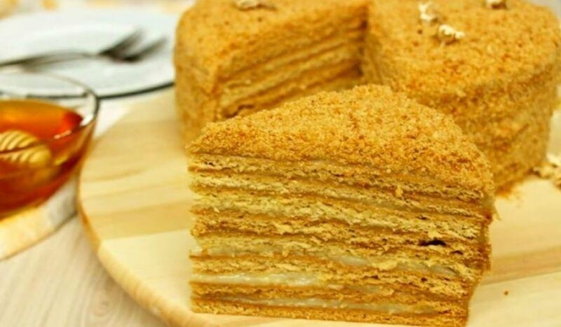 торт медовик, обложка