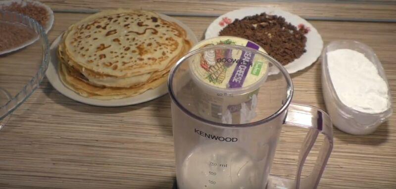 продукты для блинного торта с маскарпоне