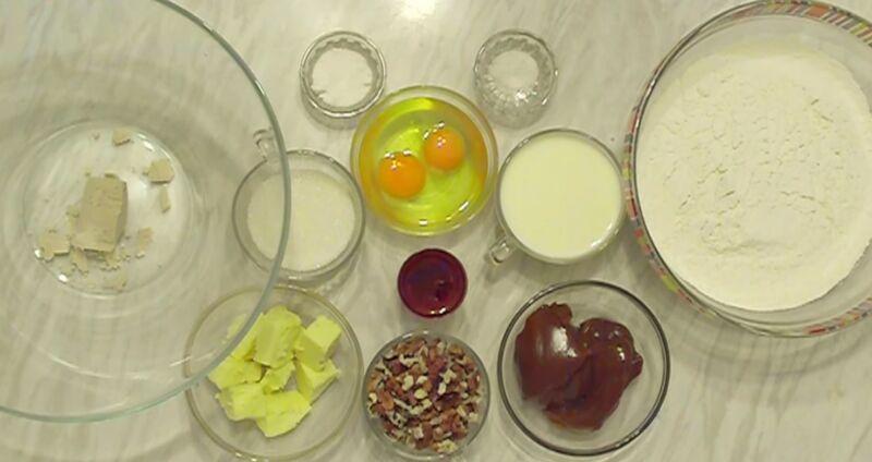 продукты для кулича с вареной сгущенкой