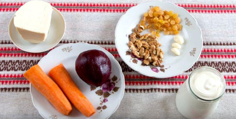ингредиенты для салата Любовница
