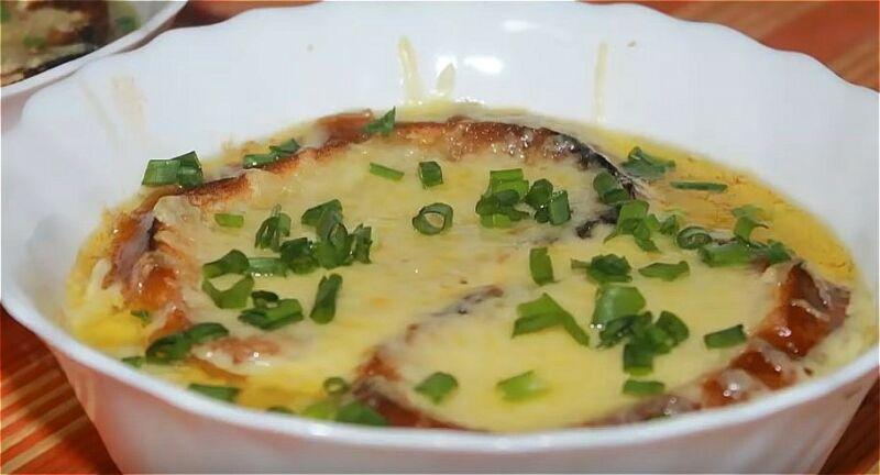 луковый суп французский классический рецепт