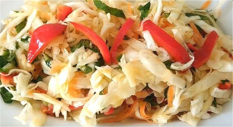 салаты из свежей капусты - простые и вкусные рецепты