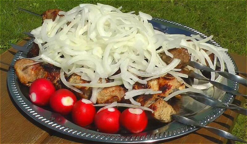 Как замариновать шашлык из свинины с уксусом и луком? Классические рецепты шашлыка из свинины с уксусом