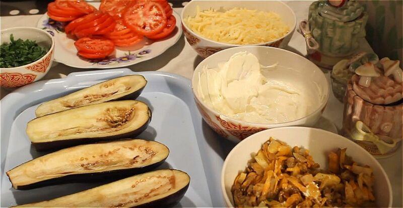 готовые продукты для фарширования баклажан