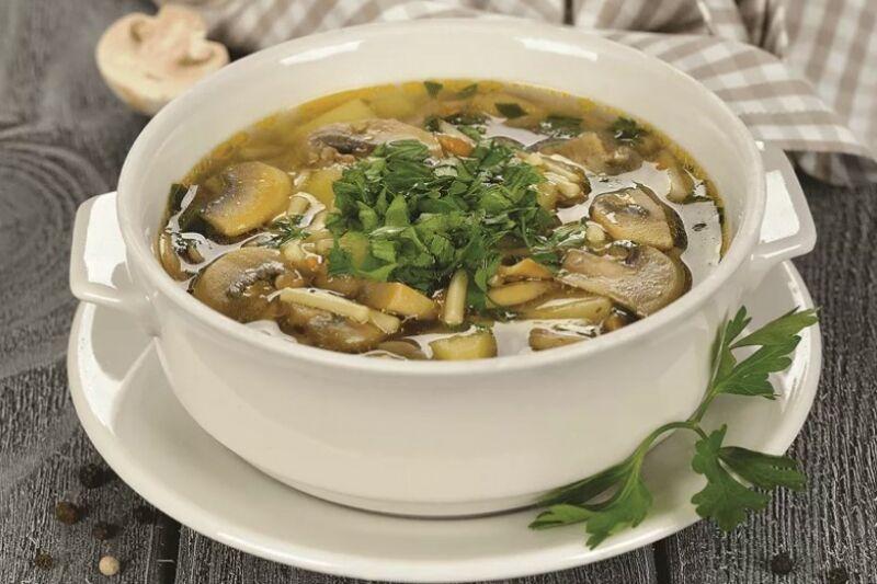 отходов грибной суп простой рецепт с фото для снятия