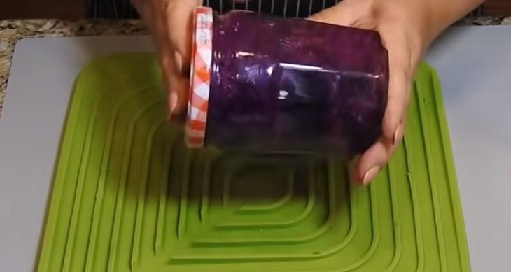 обработка банок марганцовкой