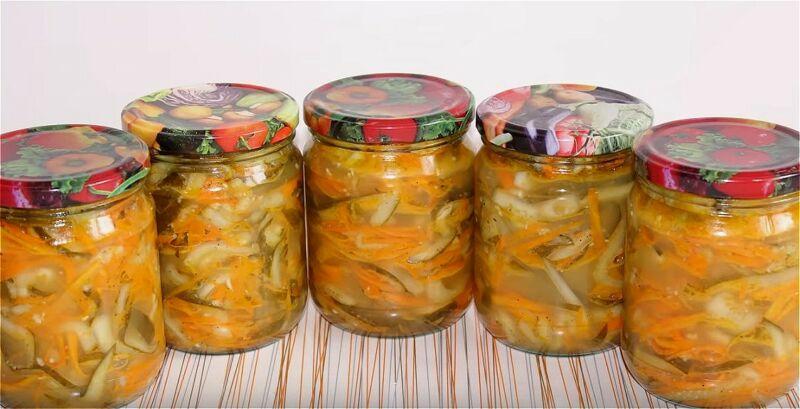 огурцы по-корейски на зиму с приправой для корейской моркови