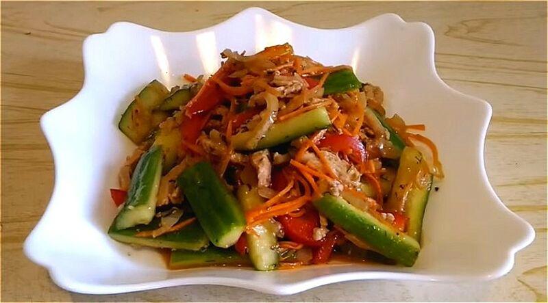 огурцы по-корейски - самые вкусные рецепты быстрого приготовления