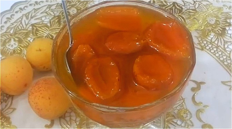 варенье из абрикосов дольками в сиропе