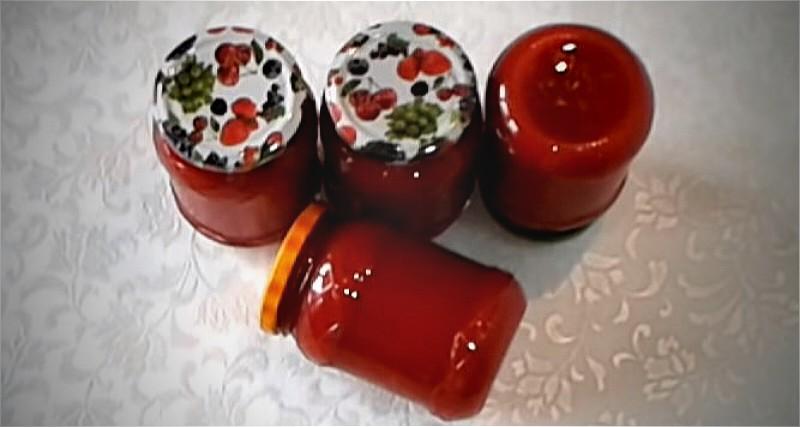 жгучая томатная паста - пальчики оближешь