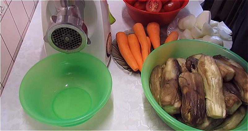 очистим все овощи от кожуры