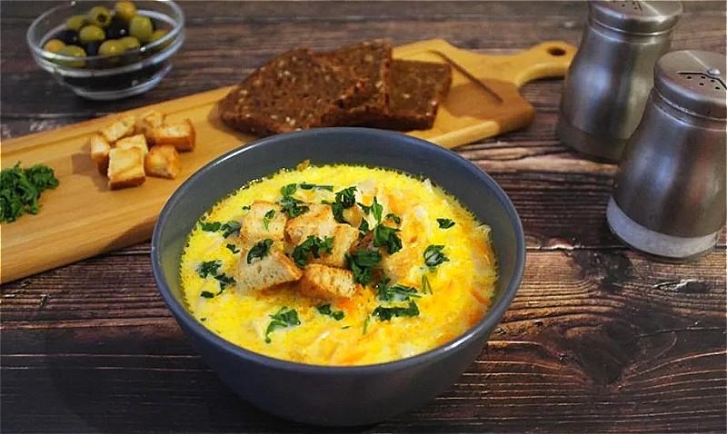 сырный суп: рецепты с плавленным сыром