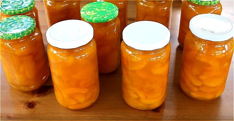 варенье из абрикосов - пятиминутка