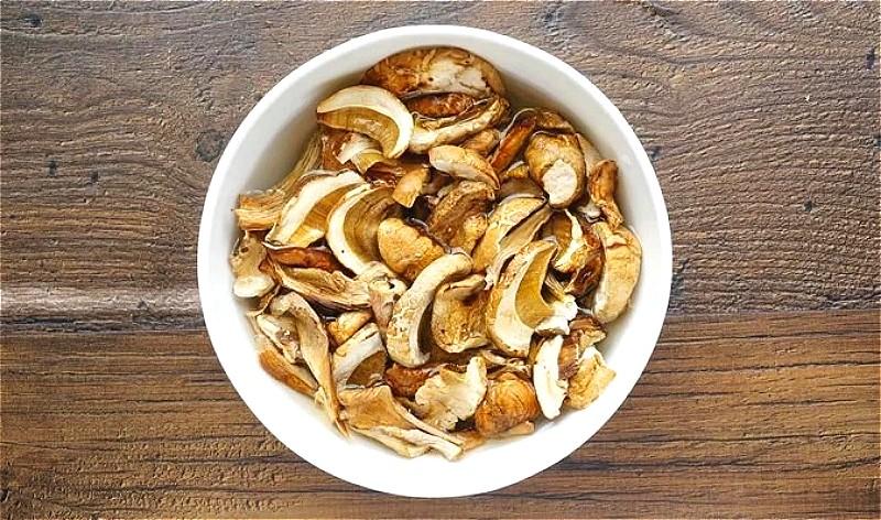 сушеные белые грибы в домашних условиях
