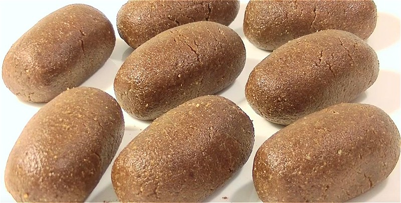 """формируем пирожное """"картошка"""""""