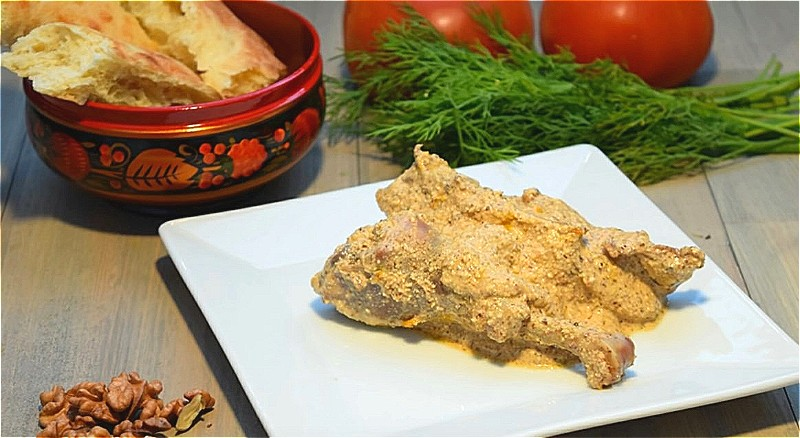 сациви из курицы в домашних условиях