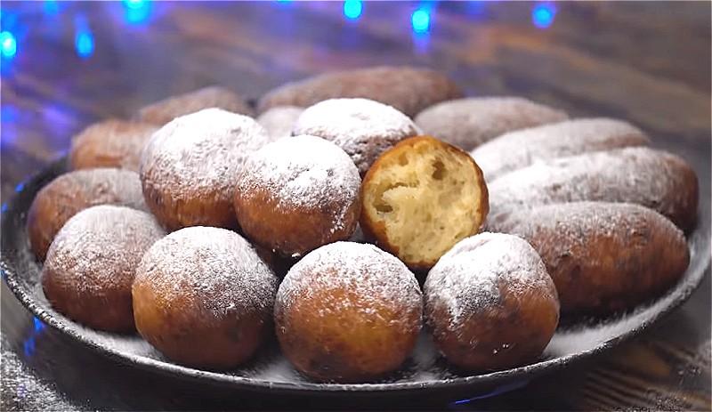 Пончики - 8 классических рецептов самых пышных пончиков берлинеров
