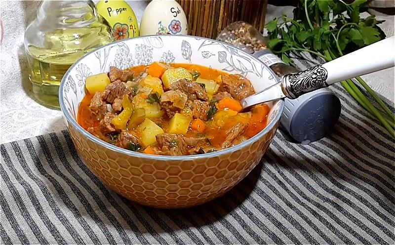 Лагман в казане - пошаговый рецепт с фото на Повар.ру