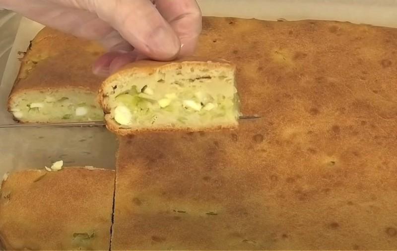 Заливной пирог с капустой в духовке - быстрые и вкусные рецепты