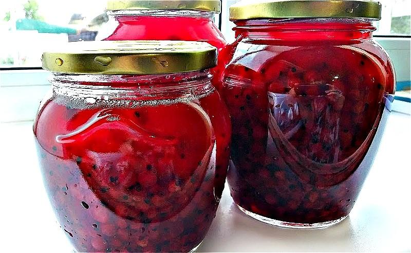 Варенье из красной смородины на зиму - простые рецепты