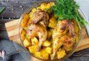 Курица с картошкой в духовке — самые вкусные рецепты